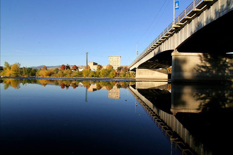 Clark Fork River - Missoula - Higgens Bridge