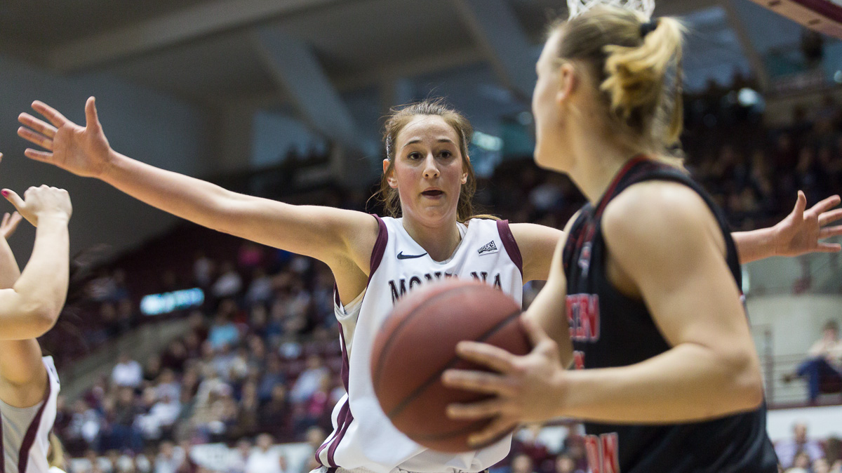 Montana Lady Griz vs. Eastern Washington Eagles